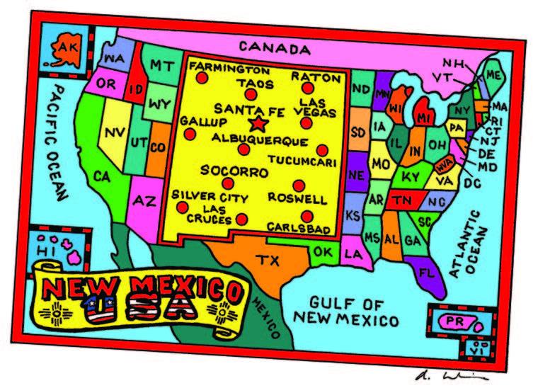 """""""New Mexico, USA,"""" 2011. Courtesy New Mexico Magazine."""