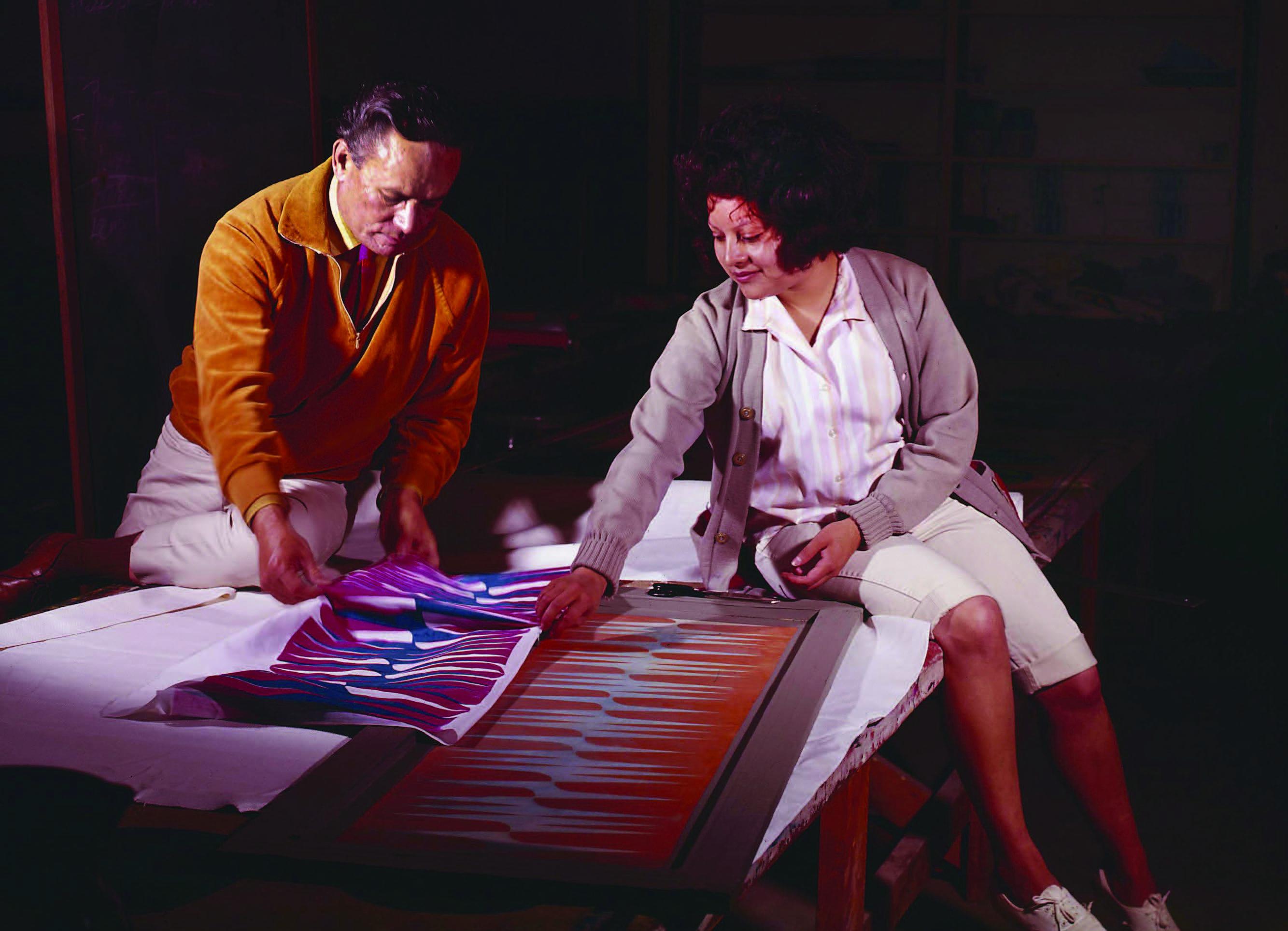 Lloyd Kiva New: Art, Design, and Influence
