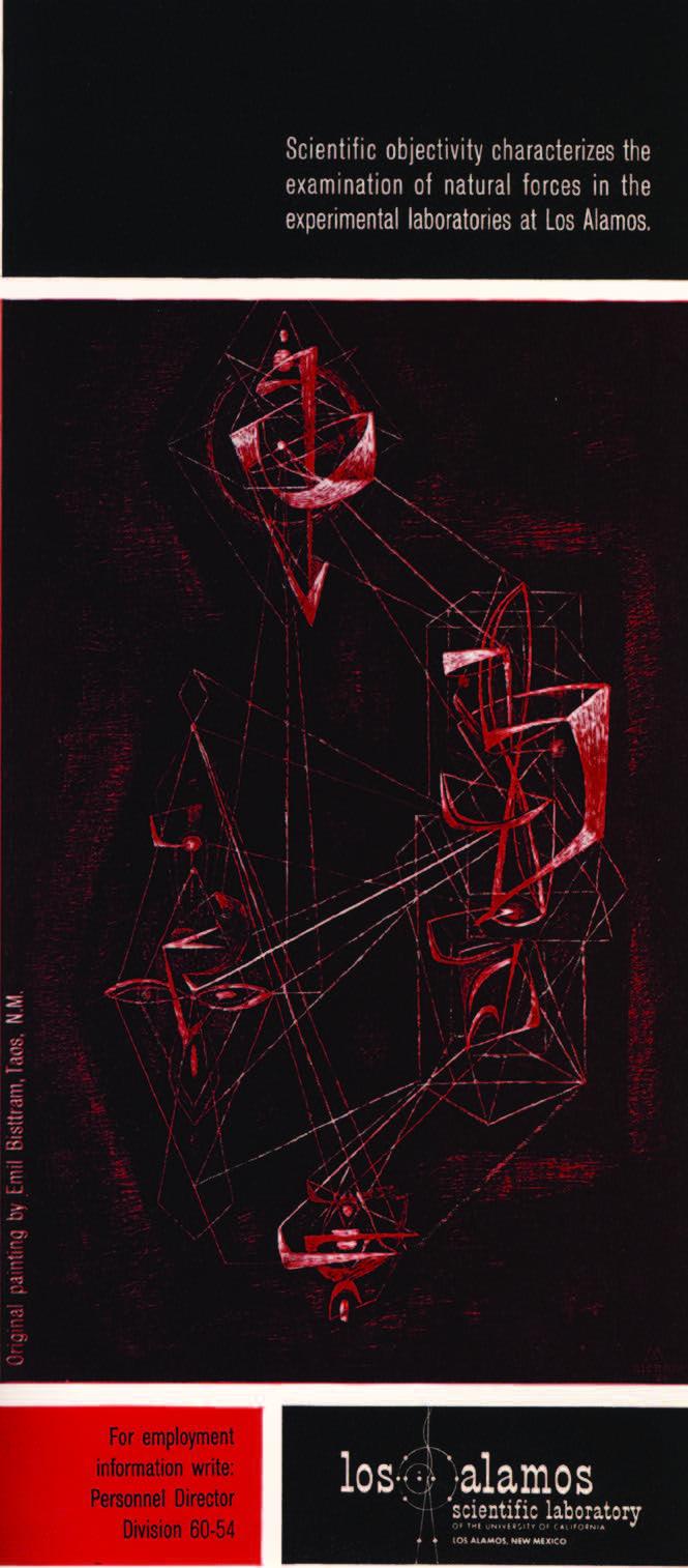 Emil Bisttram, Ascending, 1958. LASL, Missiles and Rockets, June 6, 1960.