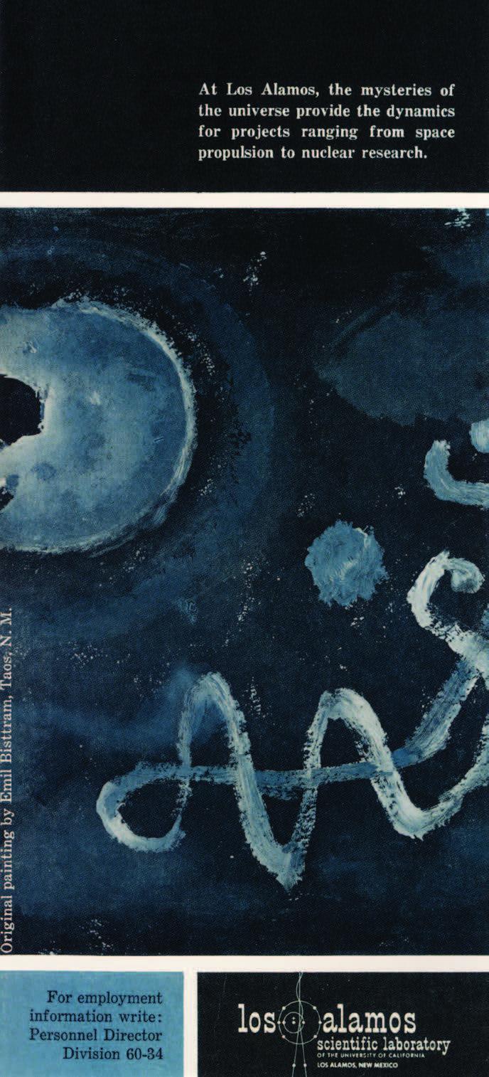 Oli Shivohnen, Blue Spot, undated. LASL, Missiles and Rockets, October 5, 1959.