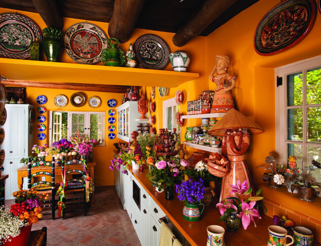 View of kitchen, home of Judith Espinar.
