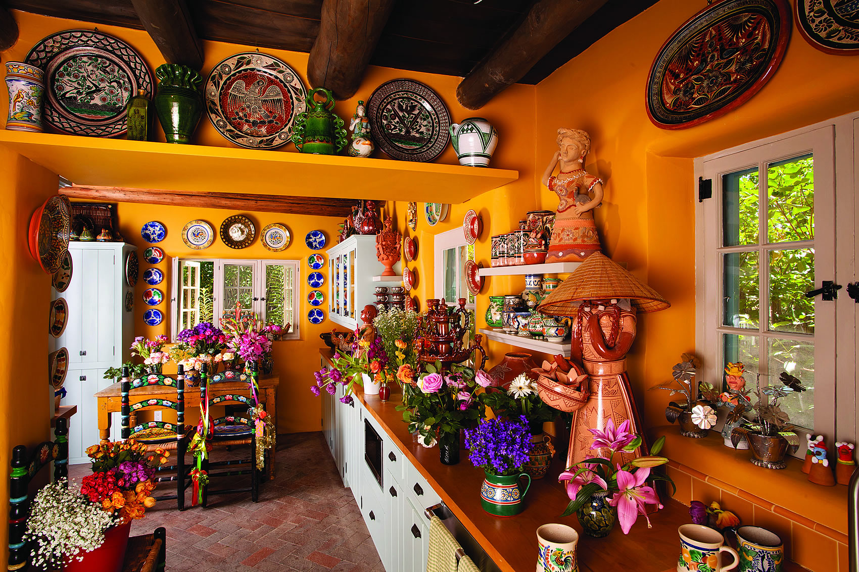 View of kitchen, home of Judith Espinar