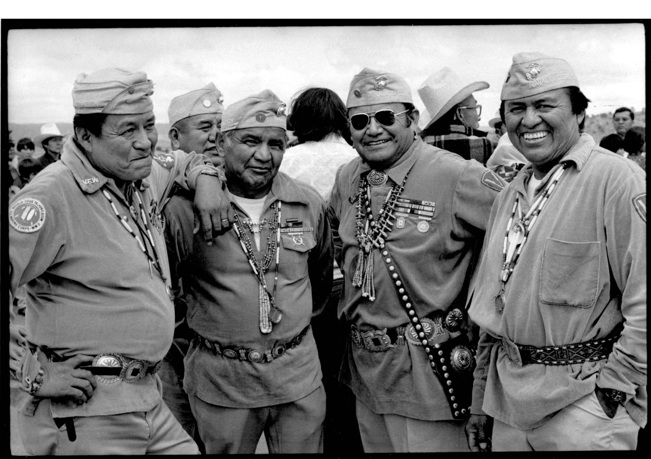 Navajo Code Talkers, Window Rock, Arizona, 1976