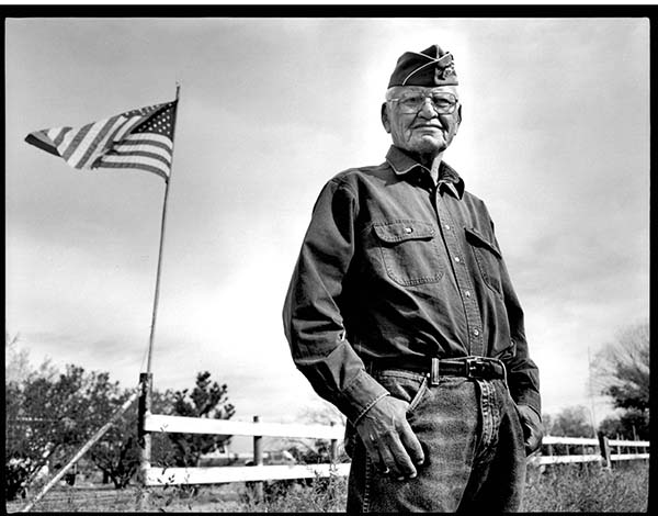 Wilfred E. Billey, Navajo Code Talker, Farmington, New Mexico, 2005