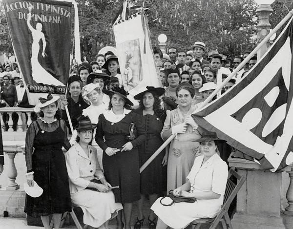 Acción Feminista Dominicana. Courtesy public domain.