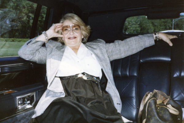 Elaine Horwitch, circa 1986. Photograph courtesy Julie Sasse.