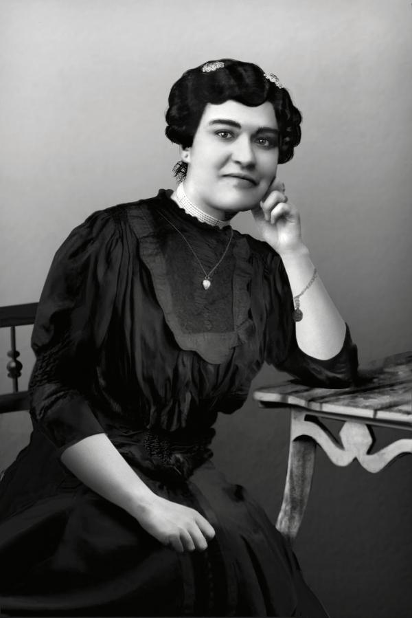 Carolina Beatriz Ângelo. Courtesy public domain.