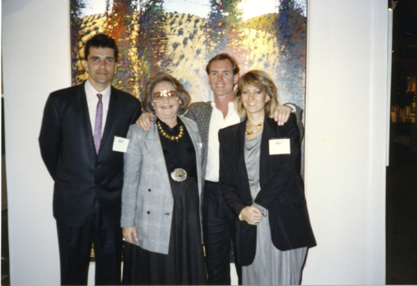 Nicholas Sealey, Elaine Horwitch, Steven Ward, and Julie Sasse. Photograph courtesy Julie Sasse.
