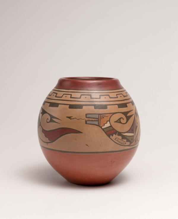 Santa Clara Pueblo Jar ca. 1940s