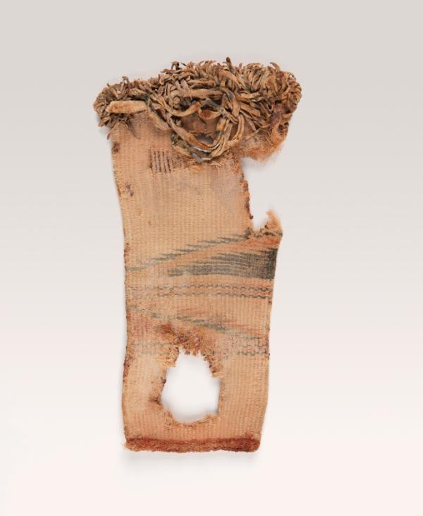Unknown artist (Ancestral Pueblo),  basketry sandal, ca. 1000 BC-AD 500.