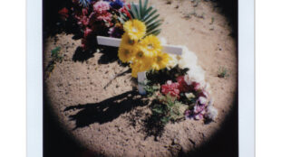 J.C. Gonzo. From the project A New Mexican Burial, 2020-2021.