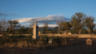 Independent Order of Odd Fellows Cemetery. Courtesy of the Independent Order of Odd Fellows Santa Fe Chapter. Photograph by Carrie McCarthy.